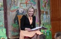 Małgorzata Greiner z burmistrz Bielawa Bibliotheca Bielaviana (10)