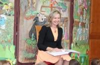 Małgorzata Greiner z burmistrz Bielawa Bibliotheca Bielaviana (4)