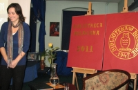 Kinga Kowalczyk promocja filmu Szermer Bielawa Bibliotheca Bielaviana (1)