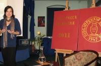 Kinga Kowalczyk promocja filmu Szermer Bielawa Bibliotheca Bielaviana (2)