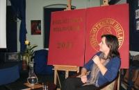 Kinga Kowalczyk promocja filmu Szermer Bielawa Bibliotheca Bielaviana (3)