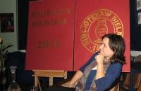 Kinga Kowalczyk promocja filmu Szermer Bielawa Bibliotheca Bielaviana (4)