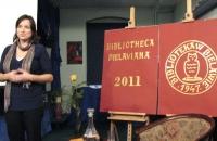 Kinga Kowalczyk promocja filmu Szermer Bielawa Bibliotheca Bielaviana (6)