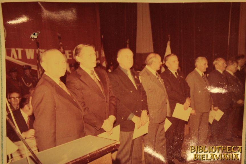 Przekazanie sztandaru 1978 Bielawa Bibliotheca Bielaviana (22)