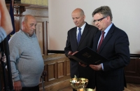 Medal dla orkiestry SART Biblioheca Bielaviana Bielawa  (2)