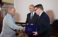 Medal dla orkiestry SART Biblioheca Bielaviana Bielawa  (3)