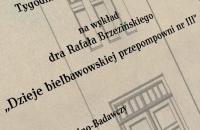 Dr Rafał Brzeziński muzeum Bielawa Bibliotheca Bielaviana (2)